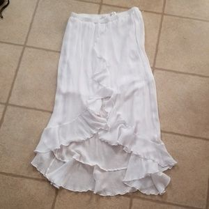 Just Be high-low maxi skirt sz 1x